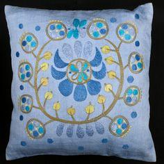 Swedish Embroidery, Sign, Throw Pillows, Retro, Toss Pillows, Cushions, Signs, Decorative Pillows, Decor Pillows