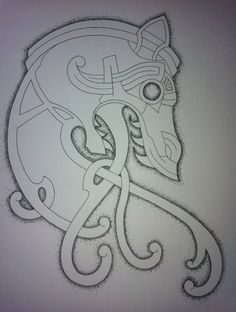 Update on Celtic Dragon Tattoo Design by NirvanaOfTime.deviantart.com on @deviantART