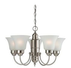 View the Sea Gull Lighting 31236 Linwood 5 Light 1 Tier Chandelier at Build.com.