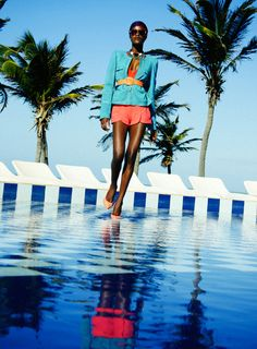 Neo Tropical / Fashion editorial for InVoga magazine by Tinko Czetwertynski, via Behance