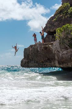 Barbados | For adrenaline pumping cliff jumps and other one-of-a-kind natural wonders, look no further than this Royal Caribbean slice of paradise.