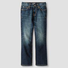 Boys' Bootcut Jeans Cat & Jack Medium Wash 10 Slim, Boy's, Blue