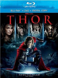 Amazon.com: Thor (Two-Disc Blu-ray/DVD Combo + Digital Copy): Thor: Movies & TV   (I like this format because I can watch it anywhere)