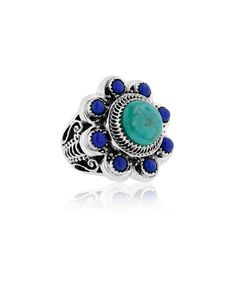Another great find on #zulily! Turquoise & Sterling Silver Ring #zulilyfinds