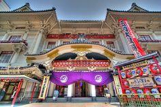 Teatro Kabuki-za en Tokio, tradición y cultura japonesa