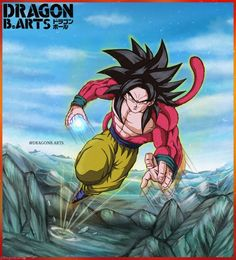 Dragon Ball Z, Dbz, Anime, Character Design, Geek Stuff, Ssj 4, Dragons, Dragon Dall Z, Geek Things