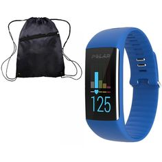 Polar Medium Green Fitness Monitor with Cinch Bag. Makes heart-rate based training more convenient than ever, just tighten the band and you're ready to train. Exercise at the right training intensity and get guidance how to reach your fitness goals.