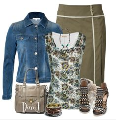 """""""Casual"""" by DimiJ. Cute minus the jewelry"""
