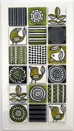 Handpainted Tiles More