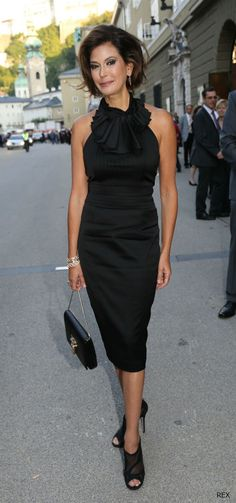 Teri Hatcher flaunts LBD and LWD on the same night!