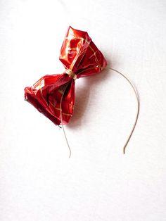 Take A Bow - Coffee Bow Headband by Ivča Vostrovska.