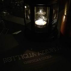 Finalmente siamo alla #bottigliaazzurra a #parma  @afroditaskitchen #restaurant