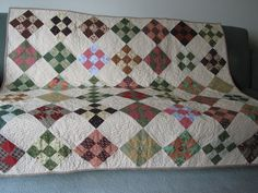Di's quilt.