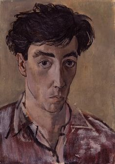 Self-Portrait, by John Minton. Photograph: National Portrait Gallery © Royal College of Art Beauty In Art, Male Beauty, John Minton, Digital Museum, National Portrait Gallery, Art Uk, High Society, Famous Artists, Figurative Art