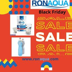 #ronaquafilters #cleanclearwater Dive into our Black Friday Sales! #blackfriday