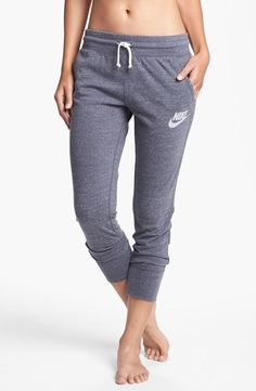 Weekend favorite! Nike 'Gym Vintage' capri pants