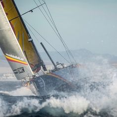 Cut to the chase. Photo by Marc Bow/Volvo Ocean Race #volvooceanrace