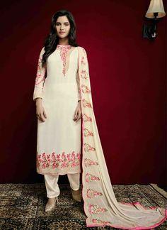 New Indian Anarkali Suit Ethnic Bollywood Salwar Dress Pakistani Designer Kameez #KriyaCreation #Designer