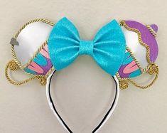 Chip and Mrs.Potts Inspired Disney Ears - New Ideas Disney Diy, Diy Disney Ears, Disney Mickey Ears, Disney Bows, Disney Crafts, Disney Couples, Disney Stuff, Walt Disney, Disney Ears Headband