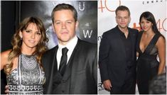 Matt Damon's family: mother, father, siblings, wife and kids. He is not just a household name in Hollywood, he is known all around the globe for his special gift when on set Matt Damon Family, Wife And Kids, On Set, In Hollywood, Brother, Parents, Daughter, Durham, Celebrities