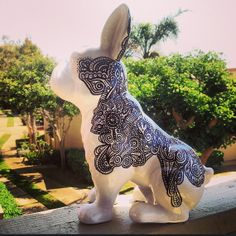 Custom Made Large Henna French Bulldog by FrenchieRevolution, $85.00