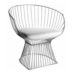 platner arm chair gold by warren platner for knoll pinterest