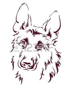 """Результат пошуку зображень за запитом """"вівчарка графіка малюнок"""""""