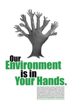 This is an environmental awareness poster done for design class and a design contest. Used Adobe Photoshop and InDesign with my own photography. Environment Day Quotes, World Environment Day, Environmental Posters, Visual Metaphor, Protest Signs, Best Places To Live, Good Morning Quotes, Poster On, Mother Earth