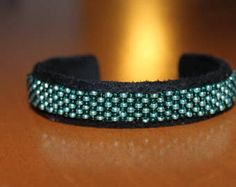 beaded bracelet handwoven checkerboard various colors