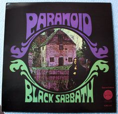 LP Black SAbbath - Paranoid - MONSTER Swiss Press Vertigo SWIRL