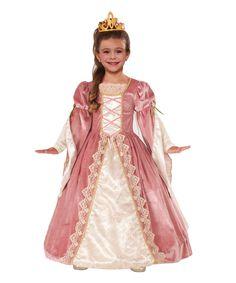 Love this Victorian Rose Princess Dress-Up Set - Kids by Forum Novelties on #zulily! #zulilyfinds
