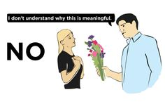 Men's Illustrated Guide To Buying Flowers