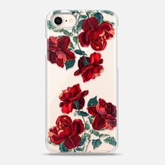 Casetify iPhone 8 Snap Case - Rose Floral Case by Priyanka Chanda