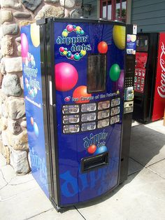 Dippin Dots Vending Machine by The Upstairs Room, via Flickr
