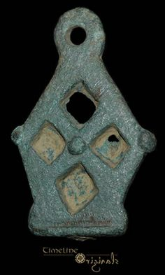 Anglo-Scandinavian / Viking 'Latticed Openwork' Stirrup Mount 017604
