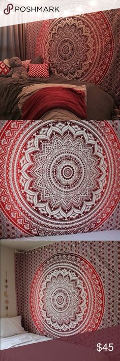 Cute bohemian bedspread tapestry. Ships within 1.5 weeks. King Accessories