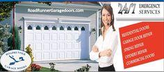 Roadrunner Garage Doors is your trusted provider for any kind of garage door repair, installation or opener issues.