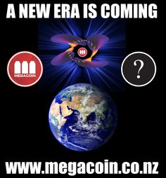 A new era is coming. www.megacoin.co.nz  #megacoin #altcoin #cryptocurrency #bitcoin