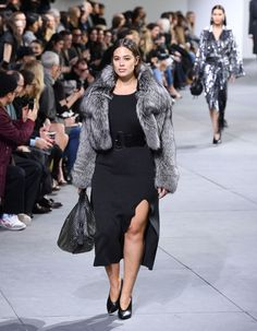 Ashley Graham Just Became the First Plus-Size Model to Walk for Michael Kors