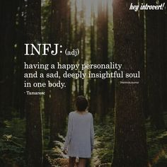 Wondering if you are an INFJ? Check out the definitive signs of the INFJ personality type. Quotes Dream, Life Quotes Love, Happy Quotes, Faith Quotes, Quotes Quotes, Infj Mbti, Intj And Infj, Infj Traits, Istp