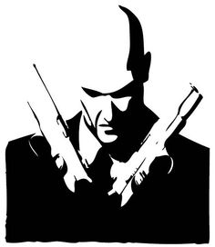 Black and White Agent 47 Hitman Agent 47, Jak & Daxter, Learn To Paint, Learn Painting, Comic Poster, Scratch Art, Bioshock, Assassins Creed, Movie Characters