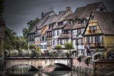 France's Colmar, also known as little Venice because of the water canals crossing the old town