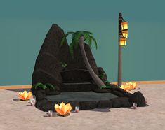 Crisps&Kerosene sims (TS3Store Sunlit Tides objects converted to TS2. (+...)