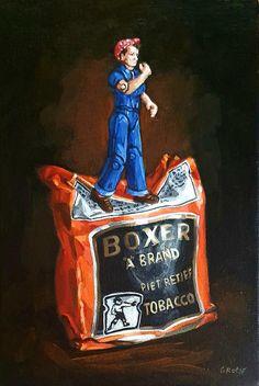 A Tribute To Rosie Riveter, painting by Grace Kotze Rosie Riveter, South African Artists, Office Art, Art Object, Online Art Gallery, Art Inspo, Pop Art, Original Paintings, Canvas