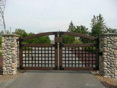 automatic iron gates - Google Search