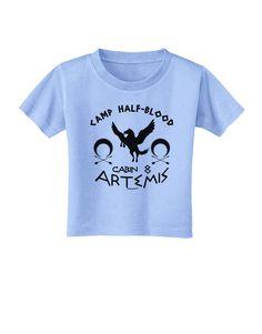 TooLoud Camp Half Blood Cabin 8 Artemis Toddler T-Shirt