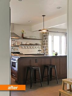 Before & After: Joellyn's Grandma Kitsch to Modern Kitchen