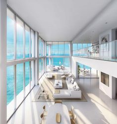 Miami 🤗 dream house luxury home house rooms bedroom furniture home bathroom home modern homes interior penthouse Dream House Interior, Luxury Homes Dream Houses, Dream Home Design, Modern House Design, Home Interior Design, Dream Beach Houses, Modern Houses, Modern Mansion Interior, Luxury Interior