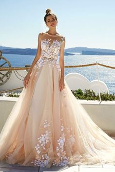Featured Dress: Eva Lendel; Wedding dress idea.