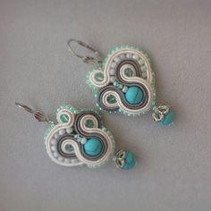 #soutache #earrings #yuliaozmen